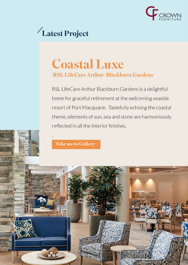 Crown Furniture – Coastal Luxe