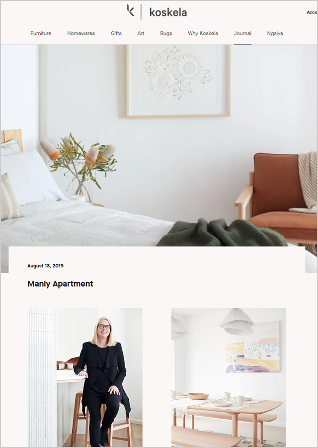 Koskela – Manly Apartment